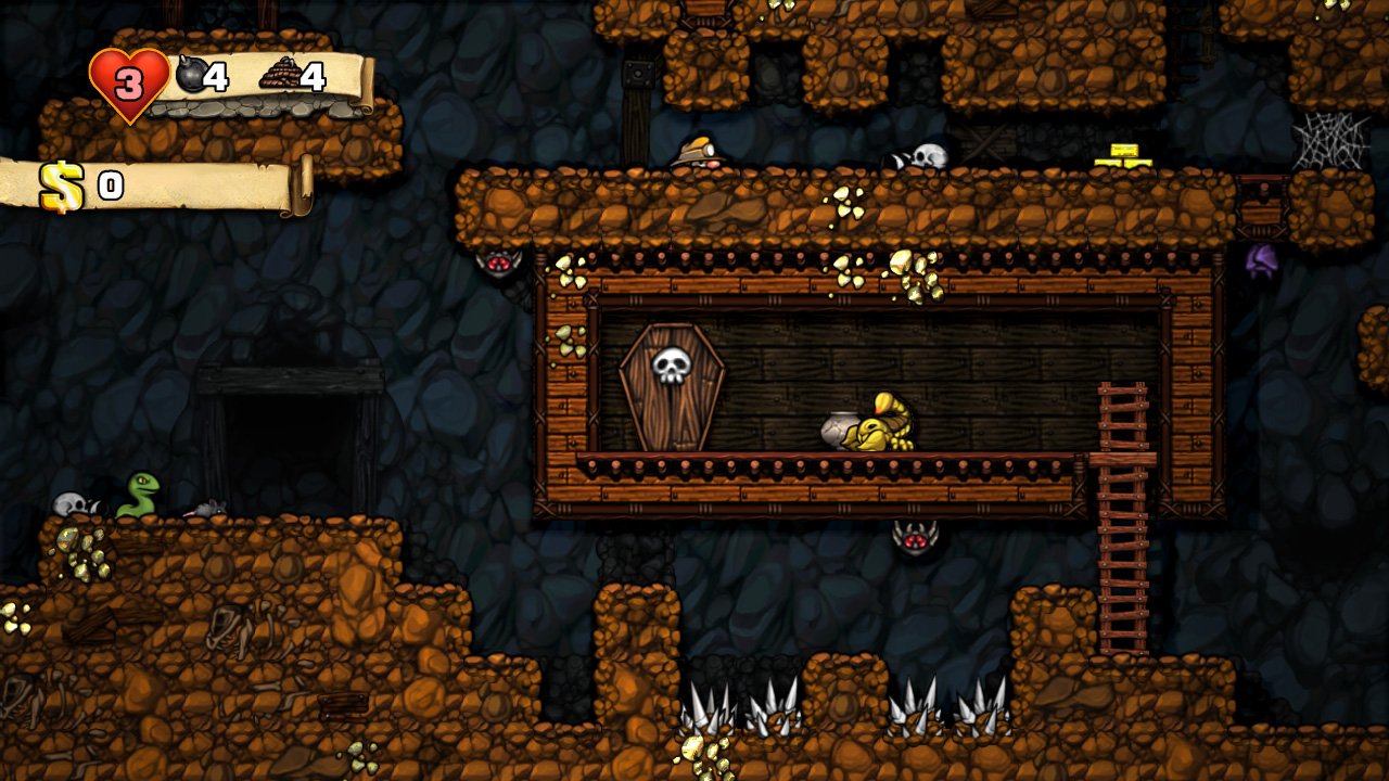make games on polish spelunky
